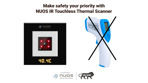Touch less vs. Handheld Thermal Scanner